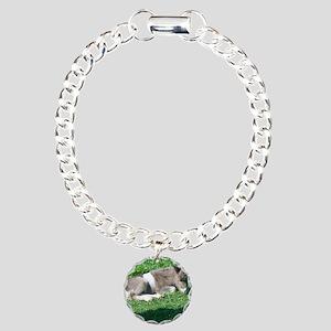CorbanCP Charm Bracelet, One Charm