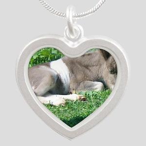 CorbanCP Silver Heart Necklace