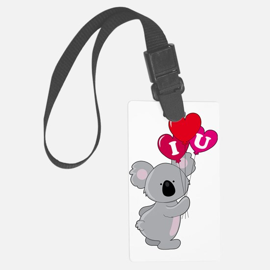 koala heart balloons cp Luggage Tag