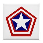 General America Tile Coaster