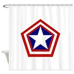 General America Shower Curtain