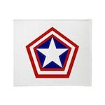 General America Throw Blanket