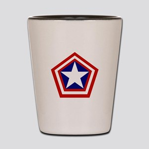General America Shot Glass