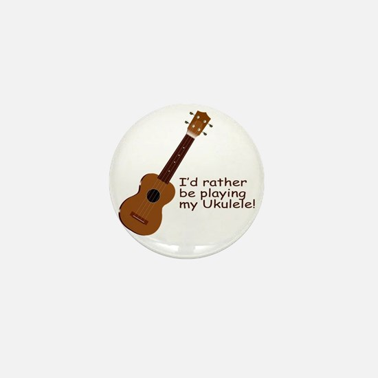 ukuleletshirt Mini Button