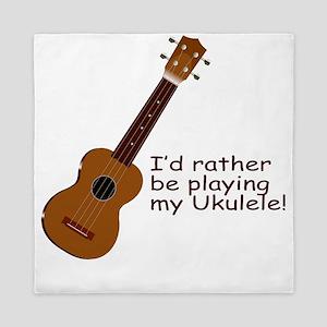 ukuleletshirt Queen Duvet