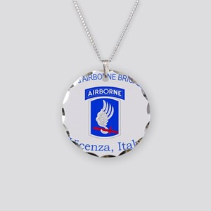 173rd ABN BDE Necklace Circle Charm