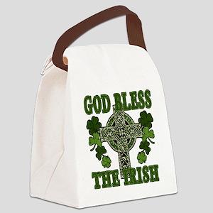 god bless Canvas Lunch Bag