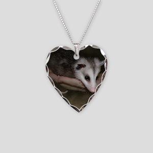 Possum child SQ 10 Necklace Heart Charm