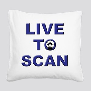 livescanw Square Canvas Pillow