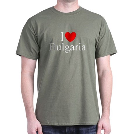 """I Love Bulgaria"" Dark T-Shirt"