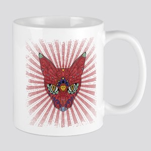 Starburst sugar Egyptian cat Mugs