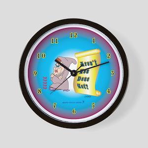 Bitchy_lg_wallclock Wall Clock
