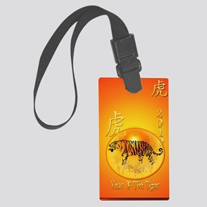 Year Of The Tiger 2010_journal Large Luggage Tag
