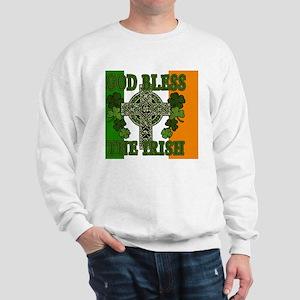 god bless_banner Sweatshirt