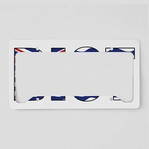 british_indian_ocean_territor License Plate Holder