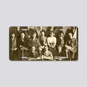 First Psaltery Orchestra Aluminum License Plate