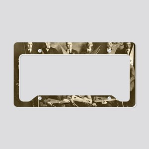 First Psaltery Orchestra License Plate Holder