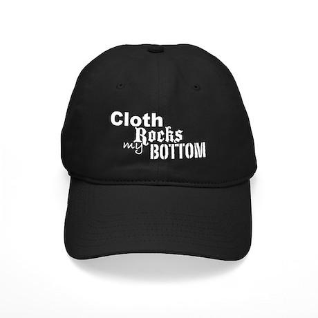 24clothrockswhite Black Cap