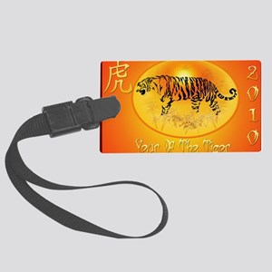 2-Year Of The Tiger 2010-Yardsig Large Luggage Tag