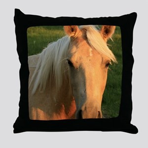 palimino horse 16x20 Throw Pillow