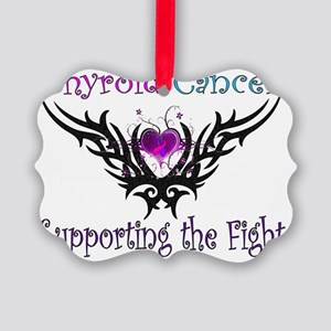 Thyroid Support Picture Ornament