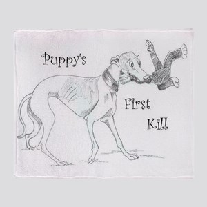 First Kill Toon Throw Blanket