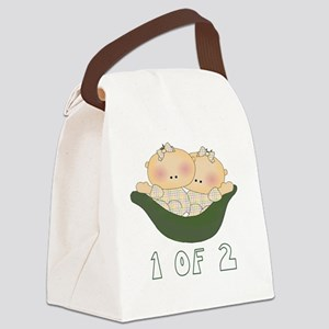 23 1 of 2 girls Canvas Lunch Bag