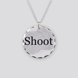 shoot Necklace Circle Charm