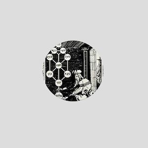 Gikatilla - white Mini Button