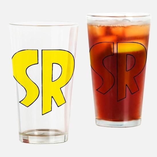 Super_rock Drinking Glass