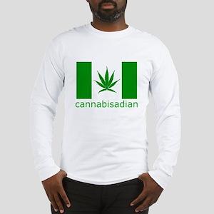 Cannibisadian Long Sleeve T-Shirt
