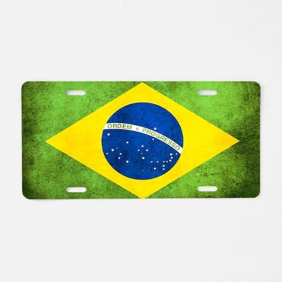 Brasil Aluminum License Plate