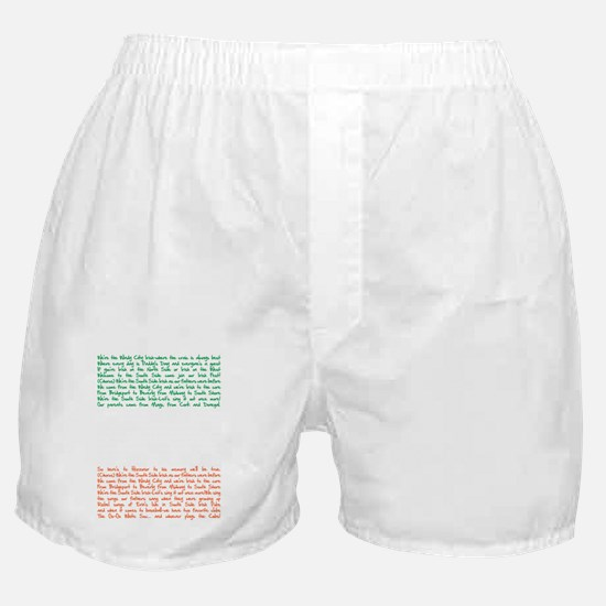ssi song Boxer Shorts