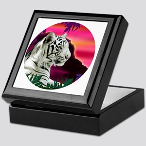 whitetiger1 Keepsake Box