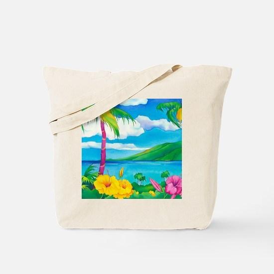 Sunny MauiSquare Tote Bag