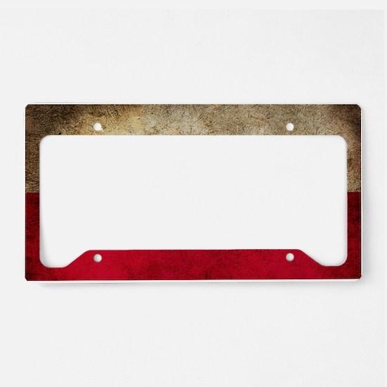 Polsk License Plate Holder