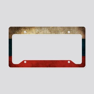 Russia License Plate Holder