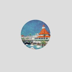 Hotel Del by RD Riccoboni 9x12 Mini Button