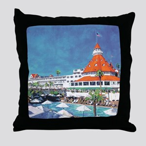Hotel Del by RD Riccoboni 9x12 Throw Pillow