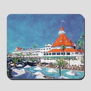 Hotel Del by RD Riccoboni 9x12 Mousepad