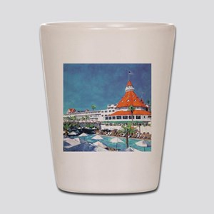 Hotel Del by RD Riccoboni 9x12 Shot Glass