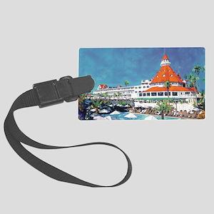 Hotel Del by RD Riccoboni 9x12 Large Luggage Tag