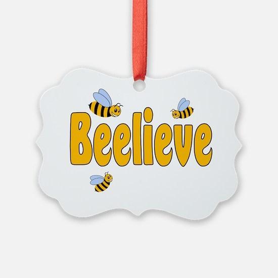 Beelieve Ornament
