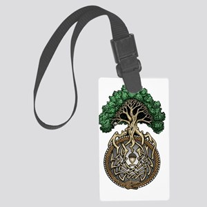Ouroboros6 Large Luggage Tag