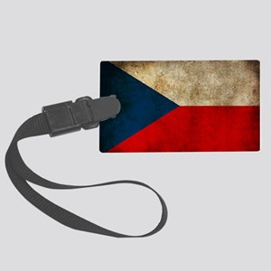 Czech Large Luggage Tag
