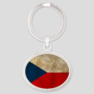 Czech Oval Keychain