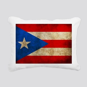 PuertoR Rectangular Canvas Pillow