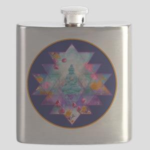 cosmic_Sri_Yantra2 Flask