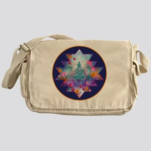 cosmic_Sri_Yantra2 Messenger Bag
