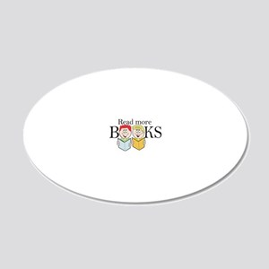 reader 20x12 Oval Wall Decal